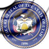 State Seal of Utah, USA. Royalty Free Stock Images