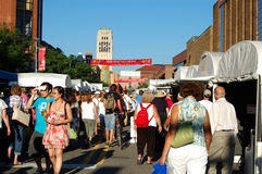 State Street Area Art Fair, Ann Arbor Stock Image