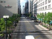 State Street e John Marshall Law School Immagine Stock