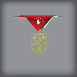 State Symbols of Abkhazia Stock Photo