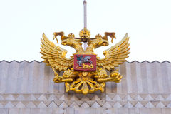 State symbols of Russia's, emblem Stock Images