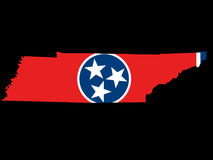 State of Tennessee Royalty Free Stock Photos