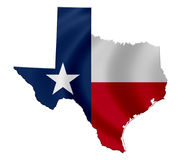 State of Texas. Map icon Stock Photography