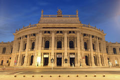 The state Theater Burgtheater of Vienna royalty free stock photo