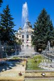State Theater and fountain in Kosice, Slovakia Stock Image