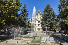 State Theatre in the centre of Kosice city, Slovakia Royalty Free Stock Image