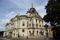 The State Theatre in Kosice, Slovakia Royalty Free Stock Photos
