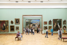 State Tretyakov Gallery is an art gallery in Moscow, Russia, the foremost depository of Russian fine art in the world. The State Tretyakov Gallery is an art Royalty Free Stock Photo