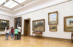State Tretyakov Gallery is an art gallery in Moscow, Russia, the foremost depository of Russian fine art in the world. The State Tretyakov Gallery is an art Stock Image