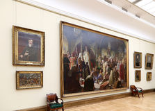 State Tretyakov Gallery is an art gallery in Moscow, Russia, the foremost depository of Russian fine art in the world. Royalty Free Stock Photos