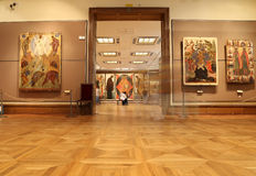 State Tretyakov Gallery is an art gallery in Moscow, Russia, the foremost depository of Russian fine art in the world. Royalty Free Stock Image