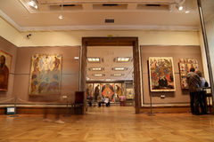 State Tretyakov Gallery is an art gallery in Moscow, Russia, the foremost depository of Russian fine art in the world. Stock Images