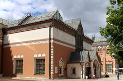 State Tretyakov Gallery is an art gallery in Moscow, Russia, the foremost depository of Russian fine art in the world. Stock Photo