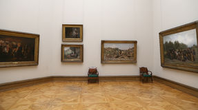 State Tretyakov Gallery is an art gallery in Moscow, Russia, the foremost depository of Russian fine art in the world Stock Photos