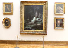 State Tretyakov Gallery is an art gallery in Moscow, Russia, the foremost depository of Russian fine art in the world. The State Tretyakov Gallery is an art Stock Photo