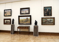 State Tretyakov Gallery is an art gallery in Moscow, Russia, the foremost depository of Russian fine art in the world Stock Photography