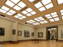 State Tretyakov Gallery is an art gallery in Moscow, Russia, the foremost depository of Russian fine art in the world Stock Image