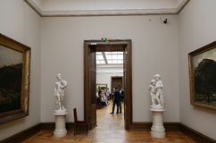 State Tretyakov Gallery is an art gallery in Moscow, Russia, the foremost depository of Russian fine art in the world Royalty Free Stock Photo
