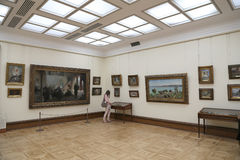 State Tretyakov Gallery is an art gallery in Moscow, Russia, the foremost depository of Russian fine art in the world. The State Tretyakov Gallery is an art Stock Photos