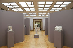 State Tretyakov Gallery is an art gallery in Moscow, Russia, the foremost depository of Russian fine art in the world Royalty Free Stock Photography