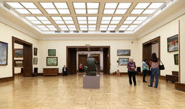 State Tretyakov Gallery is an art gallery in Moscow, Russia, the foremost depository of Russian fine art in the world. The State Tretyakov Gallery is an art Royalty Free Stock Photos