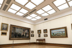 State Tretyakov Gallery is an art gallery in Moscow, Russia, the foremost depository of Russian fine art in the world Royalty Free Stock Image