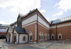 State Tretyakov Gallery is an art gallery in Moscow, Russia, the foremost depository of Russian fine art in the world. Gallery`s history starts in 1856. Hall Stock Photography