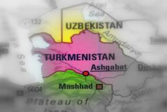 State of Turkmenistan stock photos
