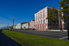 State University named A.A. Zhdanov in St. Petersburg, Russia Royalty Free Stock Images