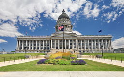 The state of Utah capital building. Stock Photo