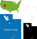 State of Utah, USA Stock Photography