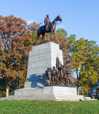 State of Virginia Monument at Gettysburg Royalty Free Stock Photography