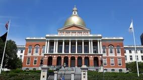 Statehouse Boston di Massachusettes Immagini Stock Libere da Diritti