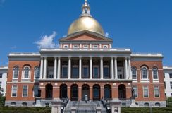 Statehouse Boston Massachusetts los E.E.U.U. Fotografía de archivo