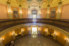 Statehouse de capitol de la Californie rotunda Photos stock