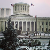 Statehouse de l'Ohio images libres de droits
