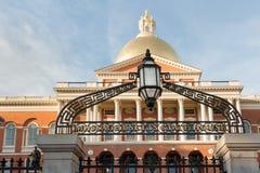 Statehouse del mA Imágenes de archivo libres de regalías