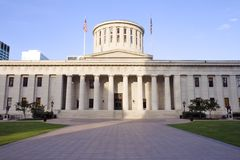 Statehouse dell'Ohio Immagini Stock