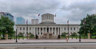 Statehouse dell'Ohio immagini stock libere da diritti