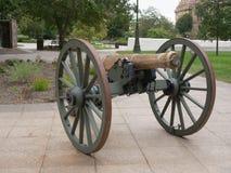 Statehouse dell'Ohio del cannone immagine stock