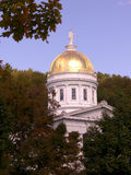Statehouse dome. Dome of montpelier, vt's state house Royalty Free Stock Photography