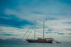 Statek łódź w czerwonym morzu Egypt Obraz Royalty Free