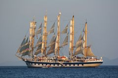 statek żeglując Zdjęcie Stock