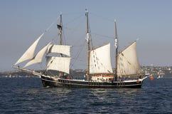statek żeglując Obraz Royalty Free