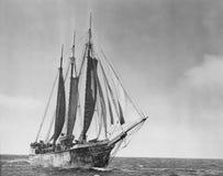Statek ahoy Zdjęcie Stock