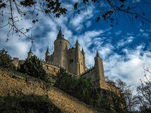 Statek, Alcazar, Segovia, Hiszpania Obraz Royalty Free