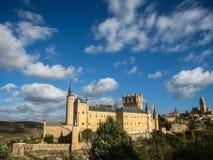 Statek, Alcazar, Segovia, Hiszpania Zdjęcia Royalty Free