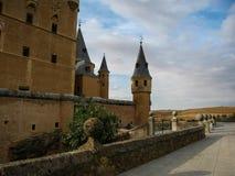 Statek, Alcazar, Segovia, Hiszpania Obraz Stock