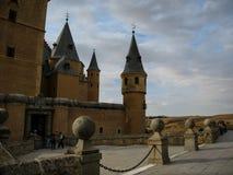 Statek, Alcazar, Segovia, Hiszpania Fotografia Royalty Free
