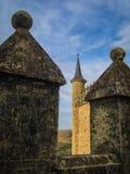 Statek, Alcazar, Segovia, Hiszpania Obrazy Royalty Free